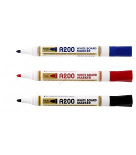Whiteboard marker VISUAL A200, varf rotund
