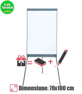 Flipchart magnetic VISUAL, 70x100 cm